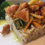 Mix Multicereale all'orientale con pollo e verdure